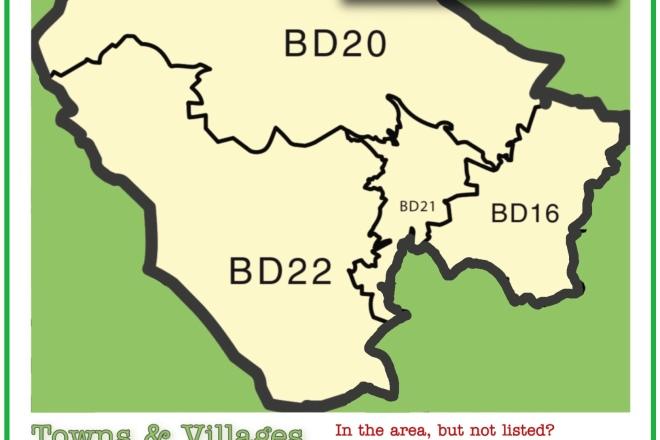 Regular Walking Area map