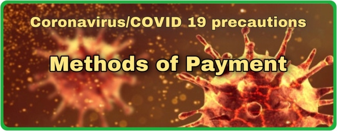 Clever K9s Coronavirus Precautions Method of Payments Covid banner